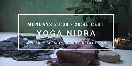 Yoga Nidra: a deep relaxation journey tickets