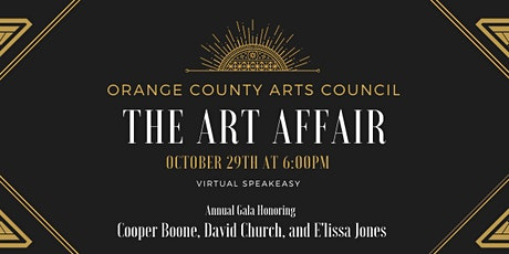 The Art Affair- Orange County Arts Council's Annual Gala tickets