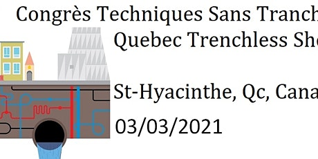 EXHIBITORS 2021 registration- Quebec Trenchless Show tickets