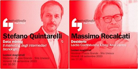 ff20 | QUINTARELLI - RECALCATI | Modena, Piazza Grande biglietti