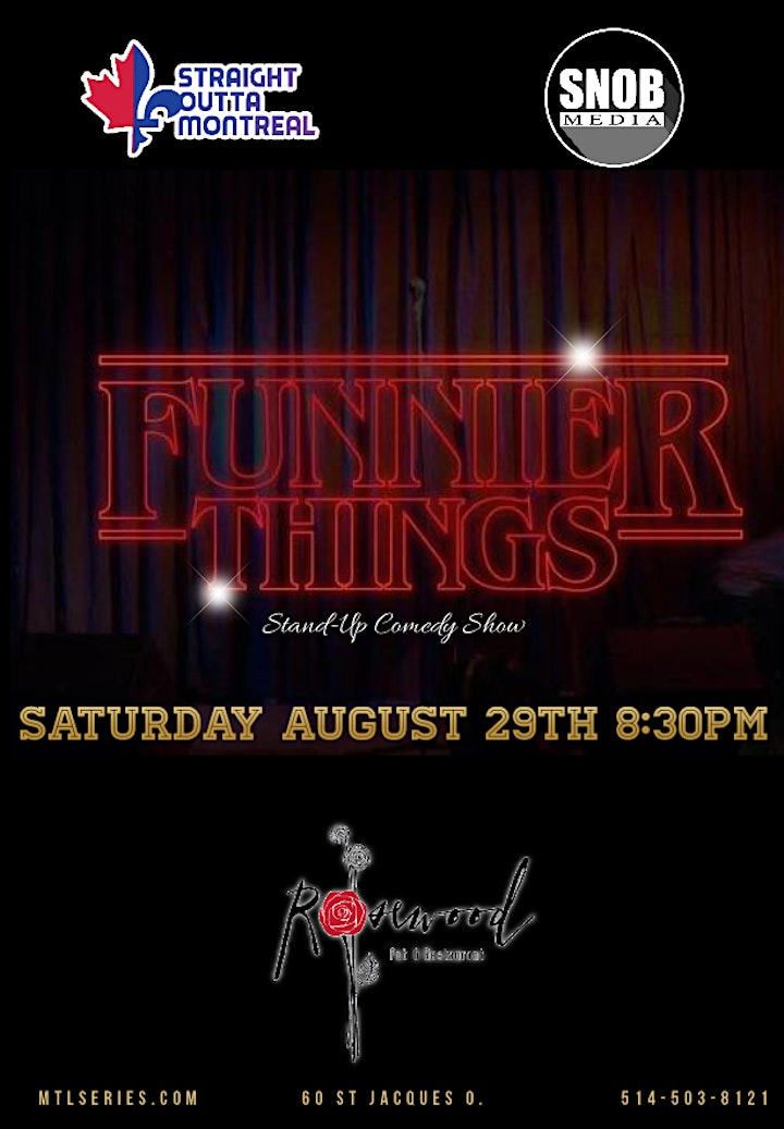 Funnier Things ( Stand-Up Comedy ) image
