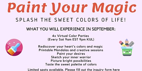 Paint Your Life - Virtual Immersion Heartwork tickets