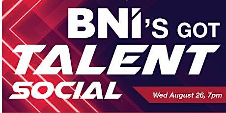 BNI's Got Talent Social tickets