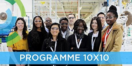 Programme 10X10: Visite en entreprise – Éditions 2020 billets