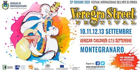 Veregra Street Festival 2020 - La vie est bulle biglietti