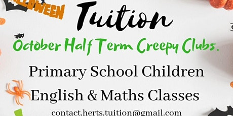 HERTS Tuition - Creepy Clubs : Year 3&4 Maths Group tickets