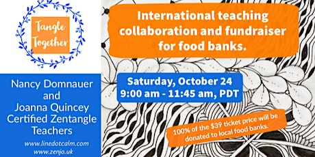 Tangle Together International Fundraiser Saturday, October 24 tickets