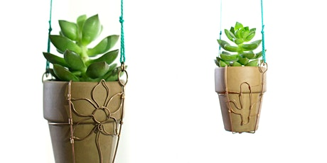Simple Wire Sculpture: Making A Plant Hanger tickets