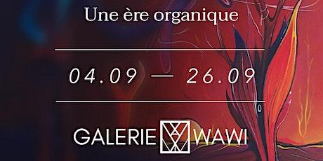 """Vernissage de l'exposition """"Une ère organique"""" - Show de l'artiste  Süyer billets"""