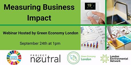 Measuring Business Impact Webinar tickets