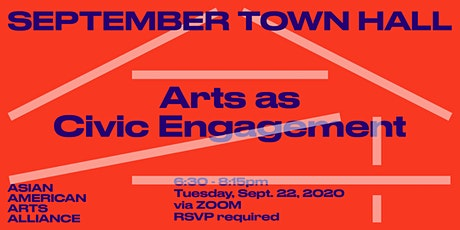 Town Hall: Arts as Civic Engagement tickets