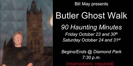 Butler Ghost Walk tickets