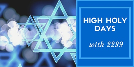 2239 Schmoozy High Holy Day Services tickets