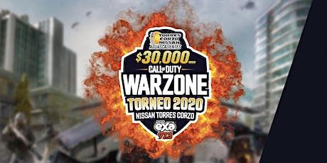 Torneo Warzone Nissan Torres Corzo / ExaFm entradas