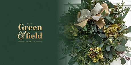 Luxury Christmas Wreath Making Workshop @ Honey Pottery, Horsforth tickets