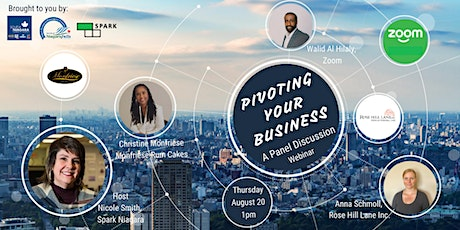 Pivoting Your Business - An Online Panel Discussion tickets