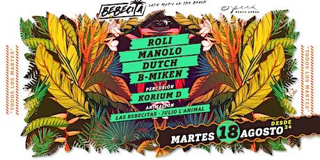 Bebecita Latin Music /Martedi 18 Agosto /Opera Beach biglietti