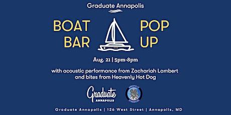Graduate Annapolis Boat Bar Pop-Up tickets