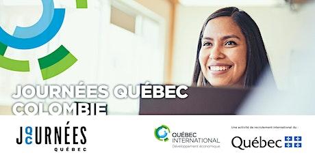 Journées Québec Colombie billets
