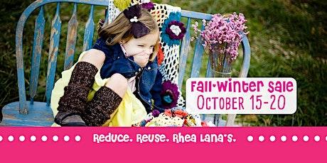 Rhea Lana's HUGE Fall/Winter Children's Consignment Sale in Winchester, VA! tickets