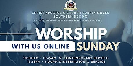 Sunday Service - International Service tickets