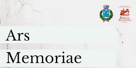 ARS MEMORIAE: CONOSCERE, PRESERVARE, TUTELARE biglietti