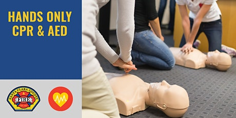 FREE IN-PERSON Hands Only CPR & AED Class | Los Gatos | 1.5 hrs tickets