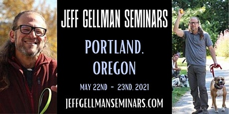 Portland Oregon - Jeff Gellman's Two Day Dog Training Seminar tickets