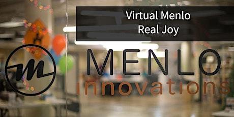 Menlo Factory Tour (Virtual) biglietti