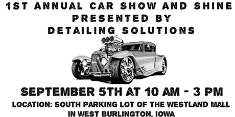 1st Annual Car Show And Shine tickets
