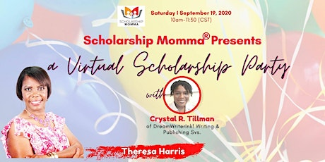 (Zoom) Virtual Scholarship Party for H.S. Students tickets