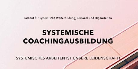 Systemische Coachingausbildung - Online Informationsabend Tickets