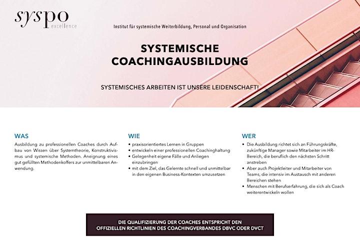 Systemische Coachingausbildung - Online Informationsabend: Bild