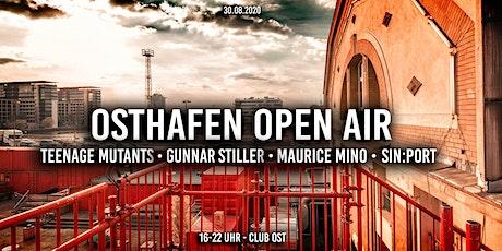 Osthafen Open Air⛵ Teenage Mutants, Gunnar Stiller, Maurice Mino Tickets