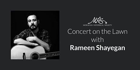 Rameen Shayegan Concert on the Lawn tickets