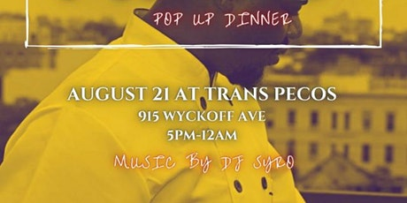AFRO POP UP DINNER BY CHEF SEGUN ODOFA  Powered by tickets