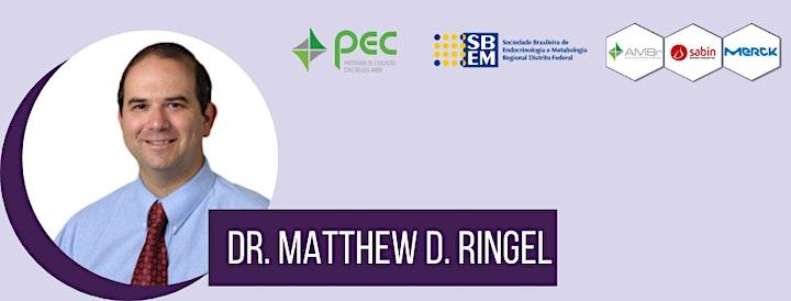 Imagem do evento Tratamento do Câncer de Tireoide | PAC SBEM-DF Online e PEC AMBr