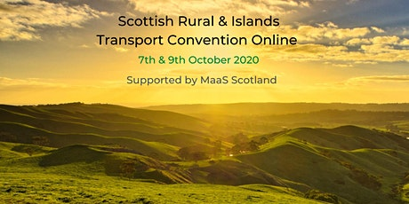 Scottish Rural & Islands Transport Convention 2020 tickets