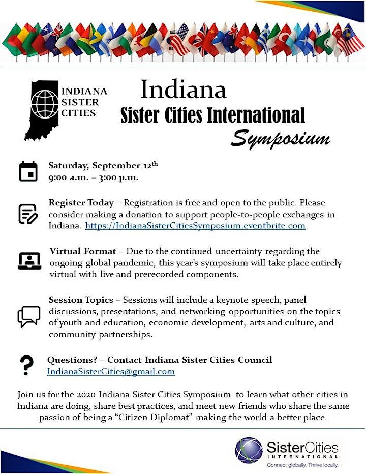 2020 Indiana Sister Cities Symposium image