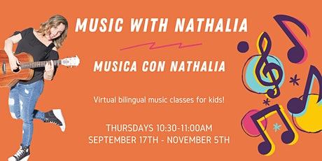Music with Nathalia/Musica con Nathalia tickets