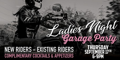 Ladies Night Garage Party tickets
