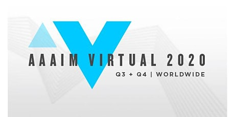 AAAIM Virtual 2020  // September Event tickets