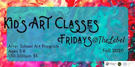 Artists @ Heart Ages 9-12 Fri. December 4th Monet's Water Lilies tickets