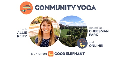 Saturday Morning Community Yoga in Cheesman Park (and Online!) tickets