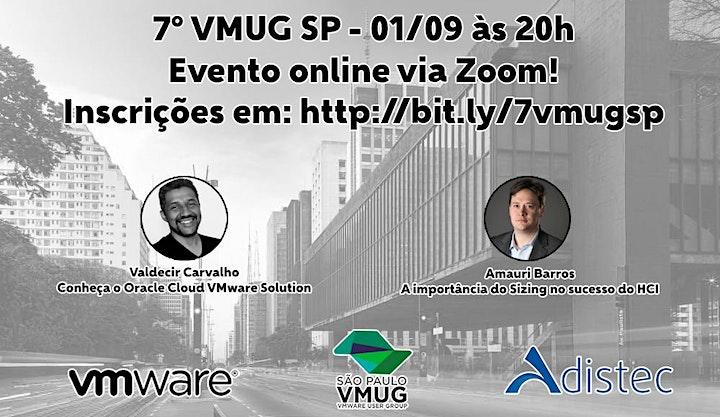 Imagem do evento VMUG SP - 7º Encontro