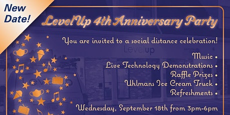 Level Up Anniversary Event! Music, Ice cream and more! tickets