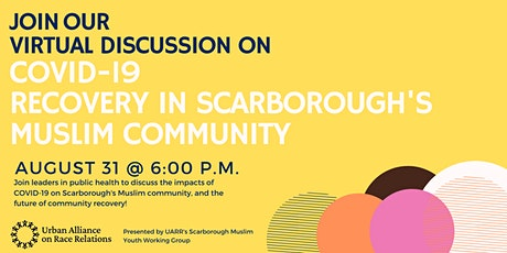 COVID-19 Recovery in Scarborough's Muslim Community: A Community Chat tickets