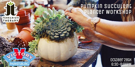 SOLD OUT - Pumpkin Succulent Workshop at Victory Brewing Co tickets