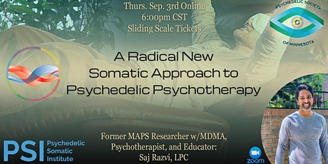 A Radical New Somatic Approach to Psychedelic Psychotherapy tickets