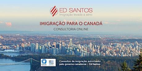 Consultoria de Imigração para o Canadá via Skype bilhetes